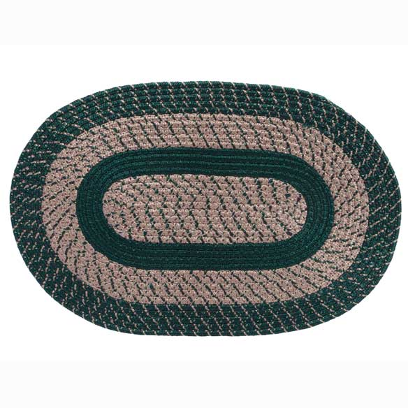 Oval Braided Rug - View 4
