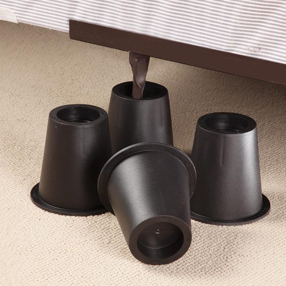 Bed Risers, Set of 4 - View 2