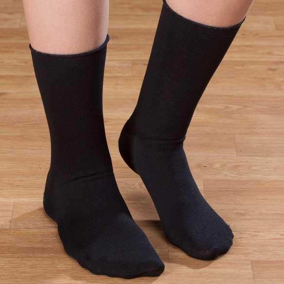 Mens Seamfree Diabetic Socks - View 2