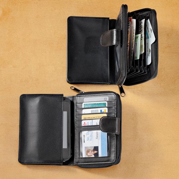 RFID Smartphone Wallet - View 1