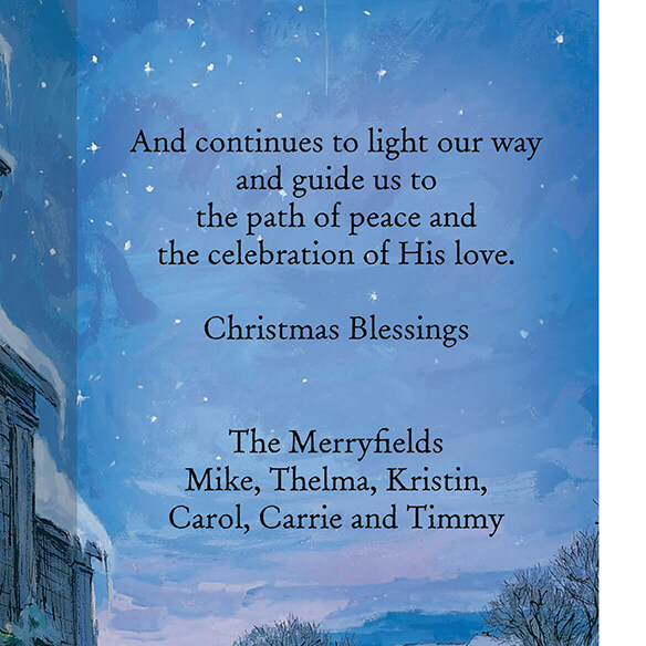 The Star Still Shines Christian Christmas Card Set of 20 - View 3