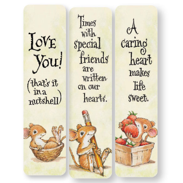 Friendship Mice Bookmarks, Set of 12 - View 2