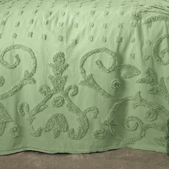 The Elizabeth Chenille Bedding - View 4