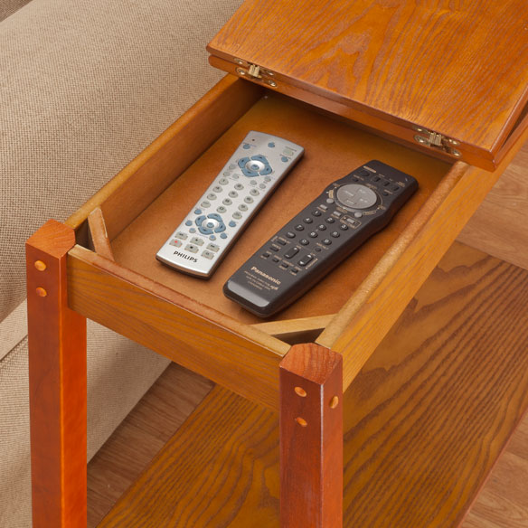 Side Table With Storage - View 1