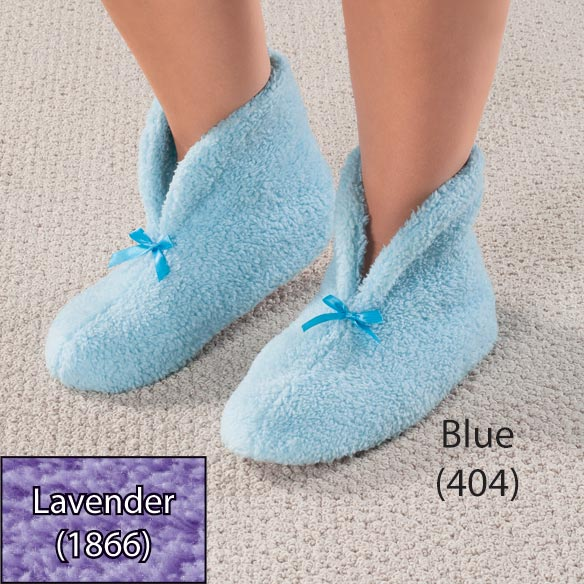 Chenille Slippers - View 1