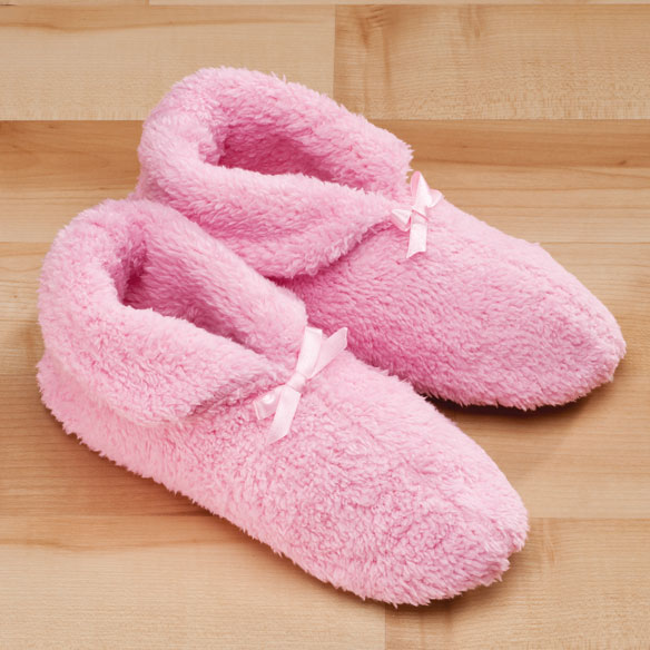 Chenille Slippers - View 3