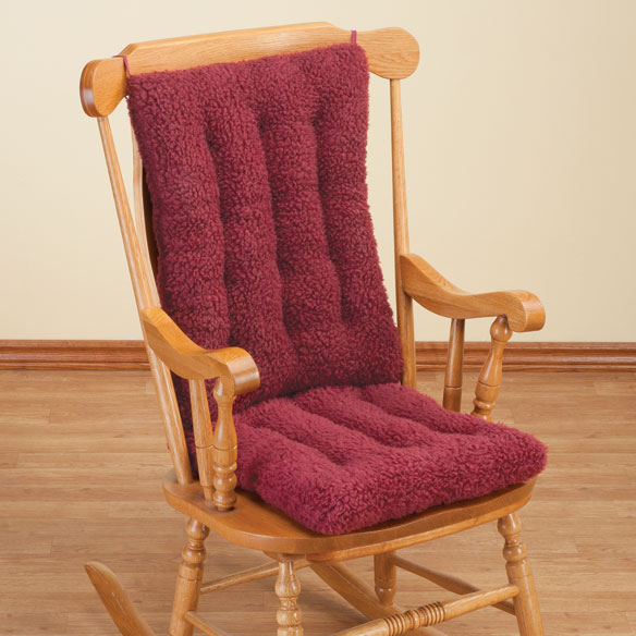 Sherpa Rocking Chair Cushion Set by OakRidge Comforts™ - View 2