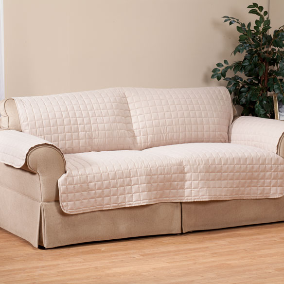Microfiber Sofa Protector by OakRidge Comforts™ - View 2