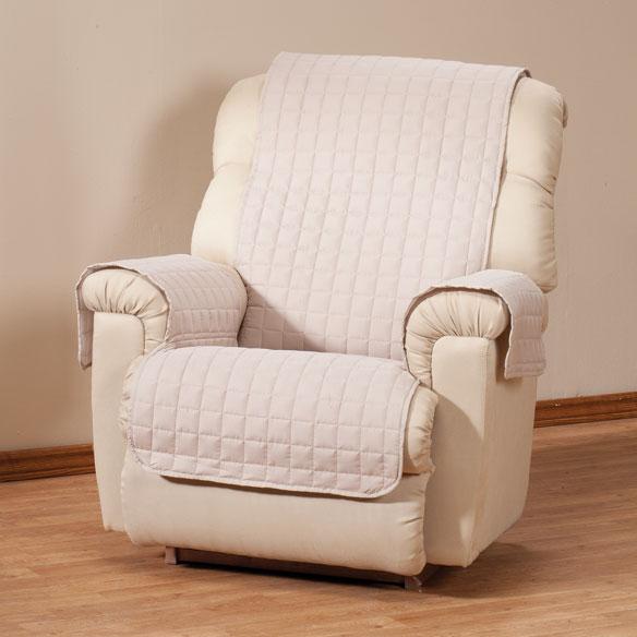 microfiber recliner protector recliner protector walter drake. Black Bedroom Furniture Sets. Home Design Ideas