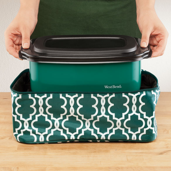 West Bend® Cook & Tote™ - Green - View 2