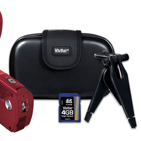 10.1 MP Digital Camcorder Kit - View 3