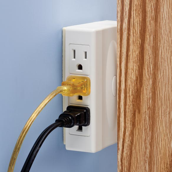 6-Outlet Plug Adapter - View 2