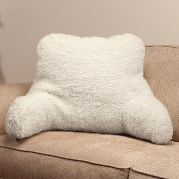 Sherpa Backrest Pillow by OakRidge Comforts™ - View 3
