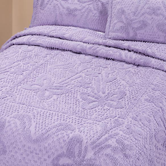 The Caroline Chenille Bedding by East Wing Comforts - View 4