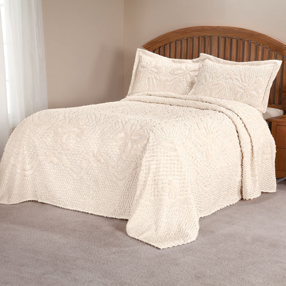 The Caroline Chenille Bedding by East Wing Comforts - View 5