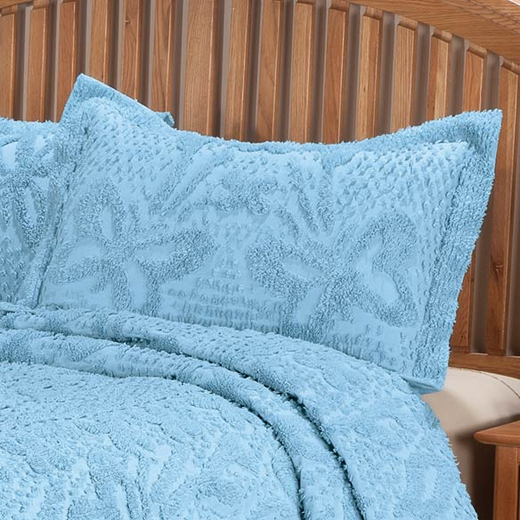 The Caroline Chenille Bedding Sham - View 3