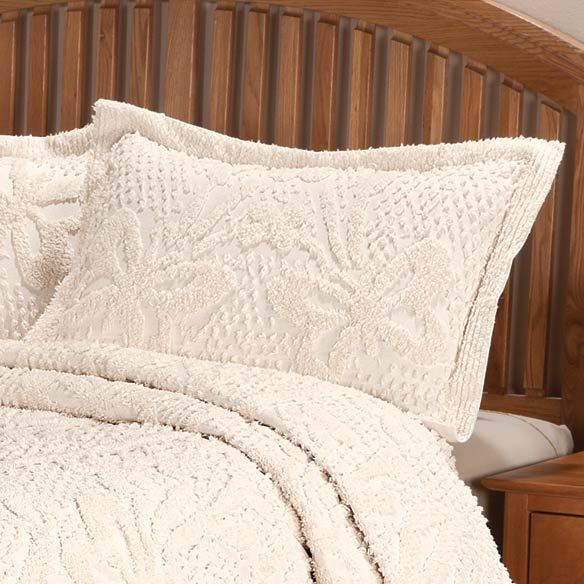 The Caroline Chenille Bedding Sham - View 4