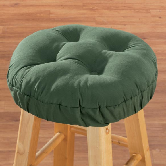Tufted Bar Stool Cushion - View 2