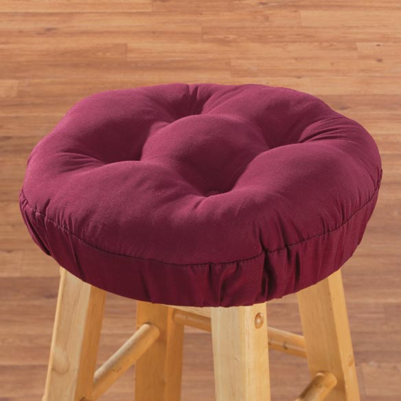 Tufted Bar Stool Cushion - View 3
