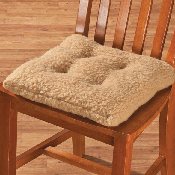 Sherpa Chair Pad by OakRidge Comforts™ - View 4