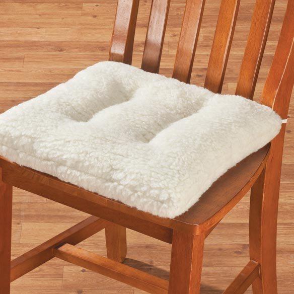 Sherpa Chair Pad by OakRidge Comforts™ - View 5