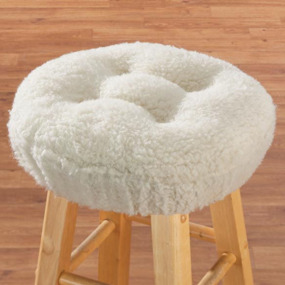 Sherpa Bar Stool Cushion by OakRidge Comforts™ - View 4