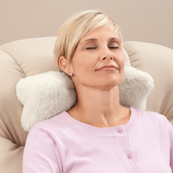 Sherpa Neck Cradle Pillow by OakRidge Comforts™ - View 3