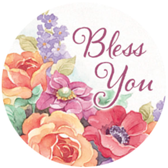 Religious Floral Stickers - Set Of 144 - View 4