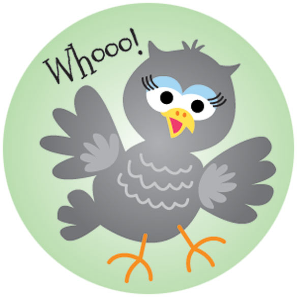 Silly Bird Stickers - Set Of 144 - View 3