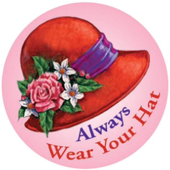 Red Hat Stickers - Set Of 144 - View 4