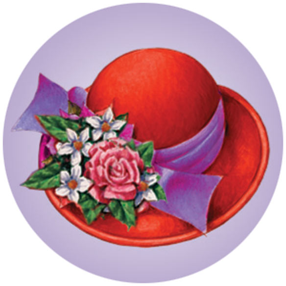 Red Hat Stickers - Set Of 144 - View 5