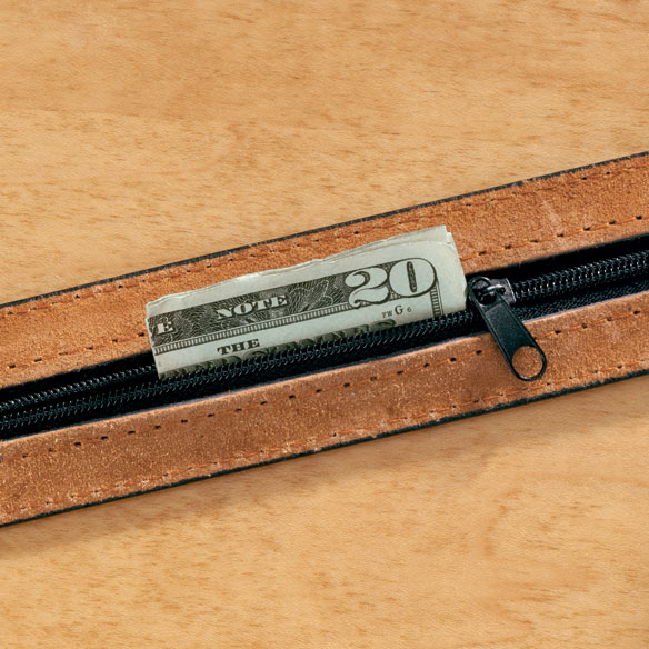 Leather Money Belt - View 1