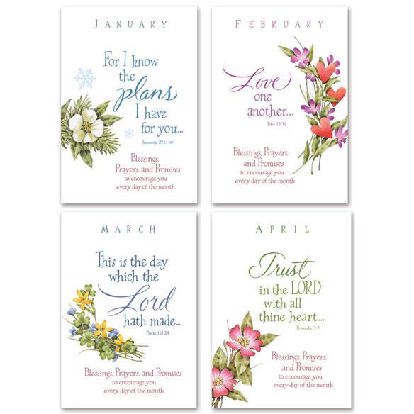 Seasonal Prayer Books, Set Of 12 - View 1