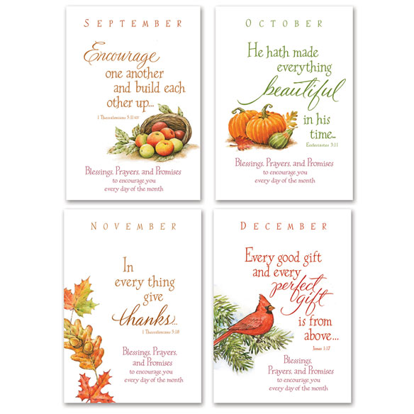 Seasonal Prayer Books, Set Of 12 - View 3
