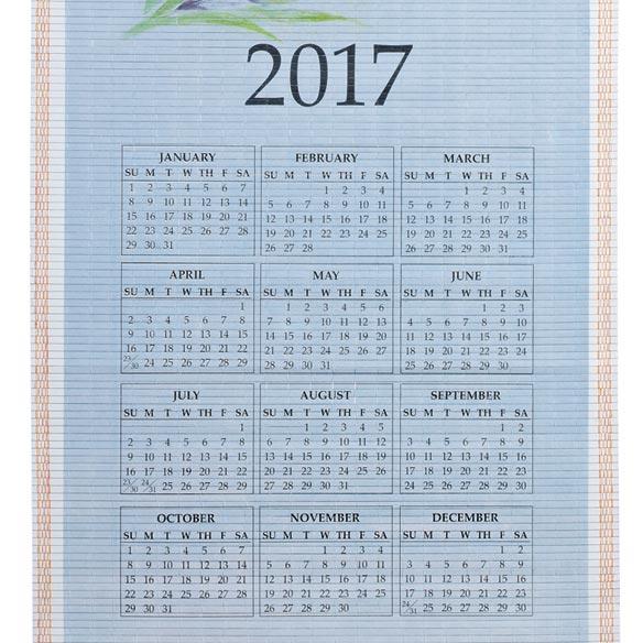 Rejoice Scroll Calendar - View 3