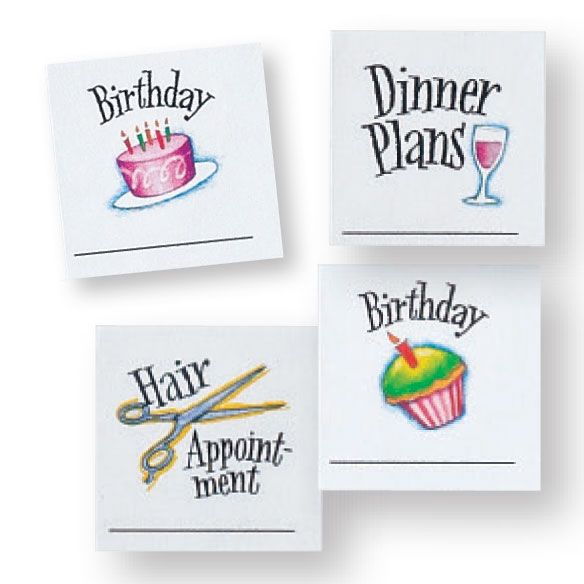 Calendar Stickers, Set of 80 - View 2