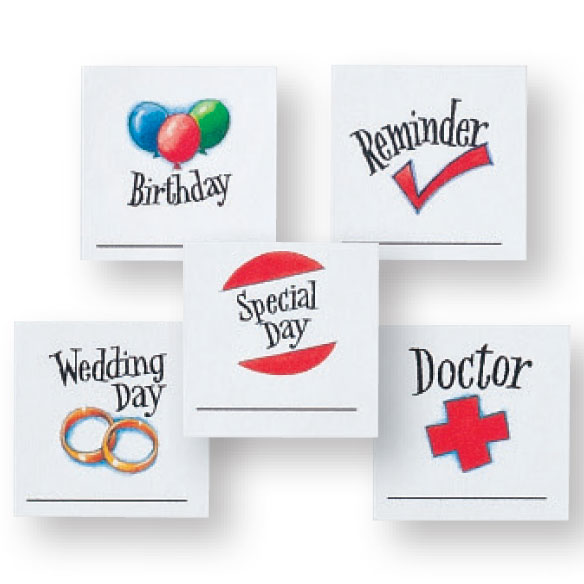 Calendar Stickers, Set of 80 - View 3