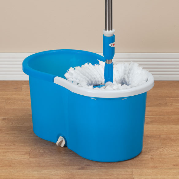 Clean Spin 360° Microfiber Mop and Bucket Set - View 2