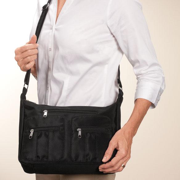 Microfiber 3-Piece Handbag Set - View 5