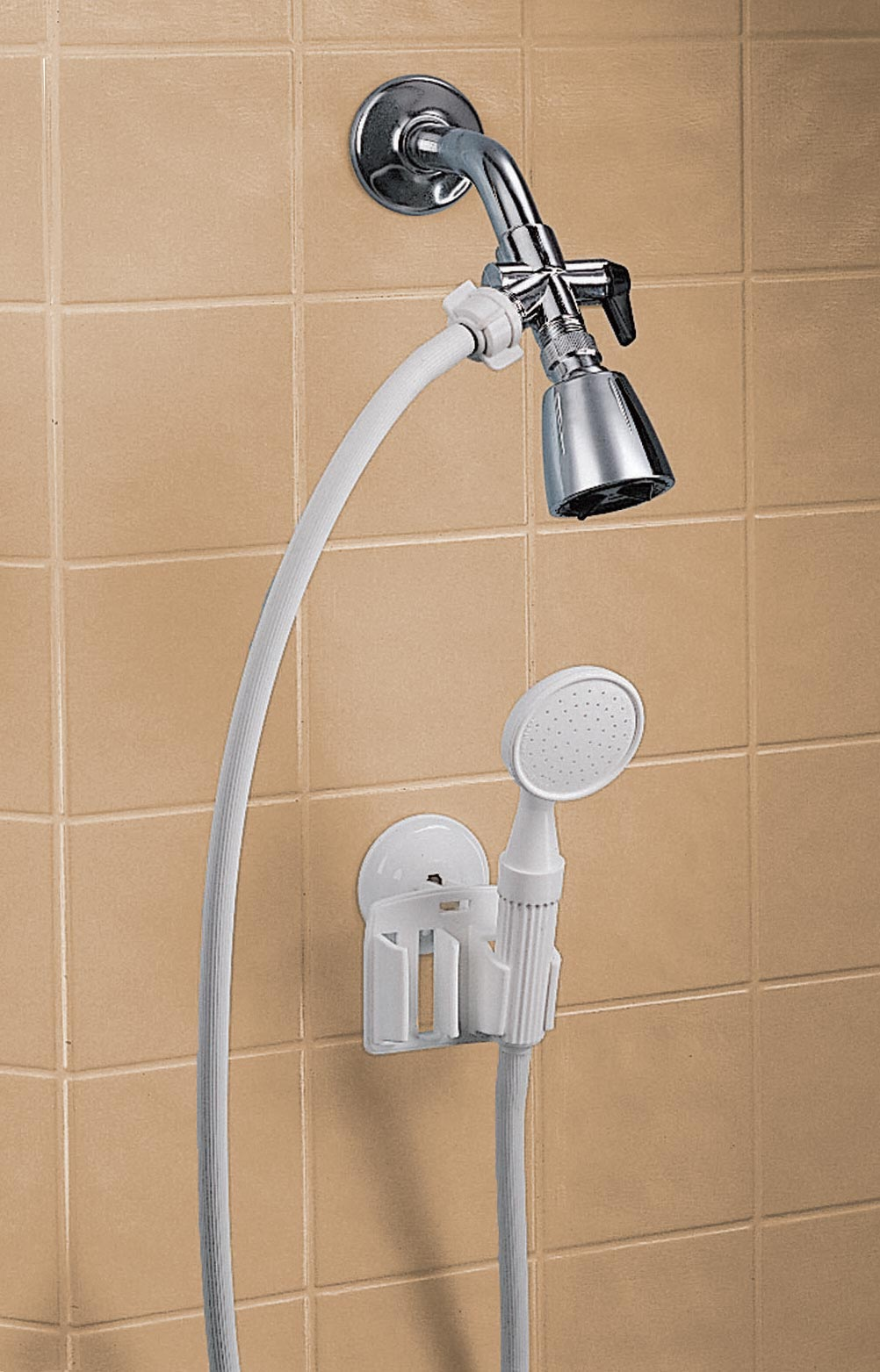 detachable hand held shower sprayer white ebay. Black Bedroom Furniture Sets. Home Design Ideas