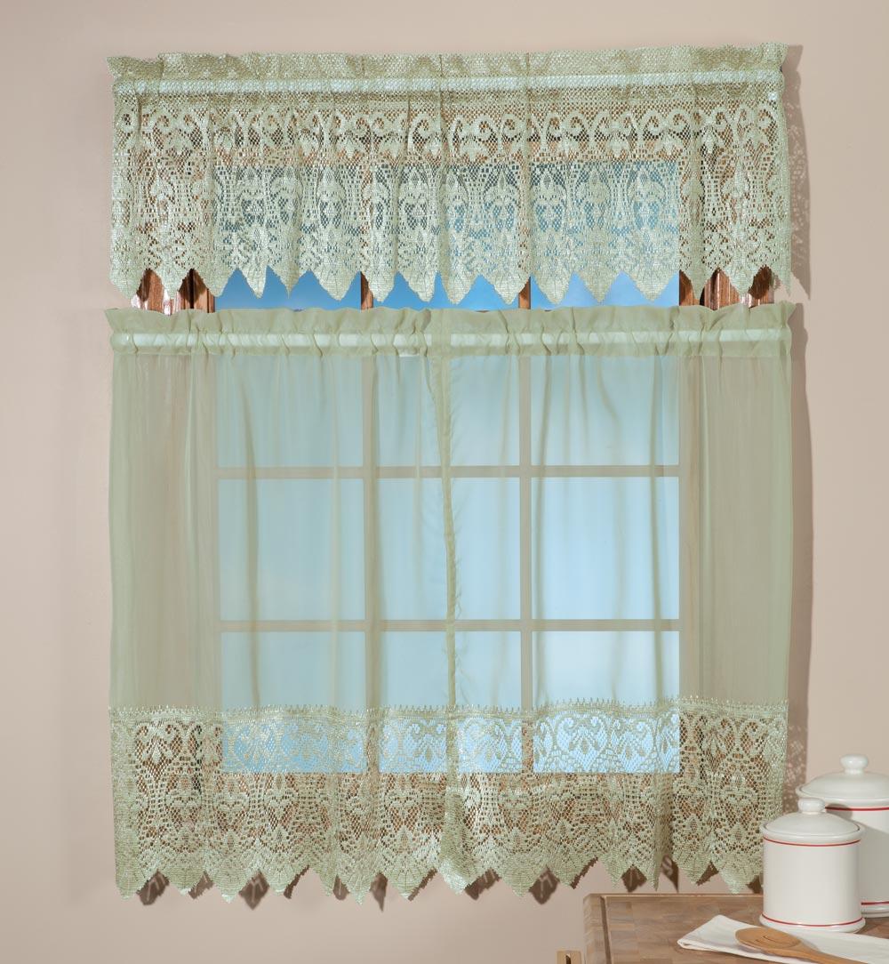 Macrame Kitchen Curtains Ebay
