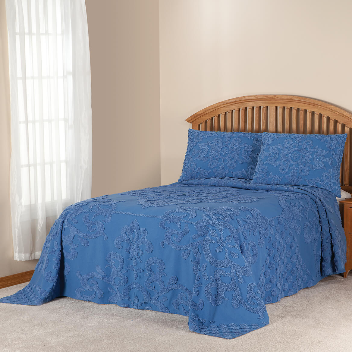 The-Florence-Chenille-Bedspread-by-OakRidgeTM thumbnail 13