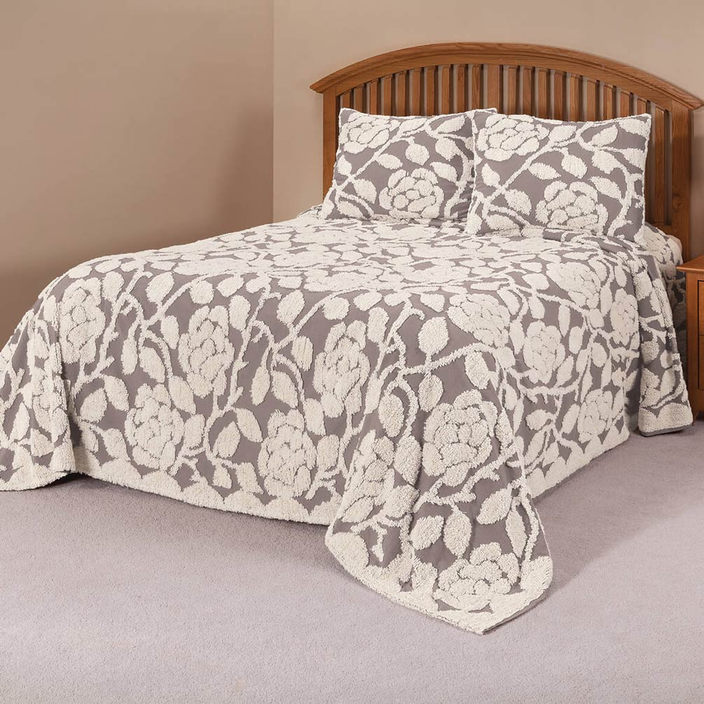 The-Grace-Chenille-Bedspread-by-OakRidgeTM thumbnail 18