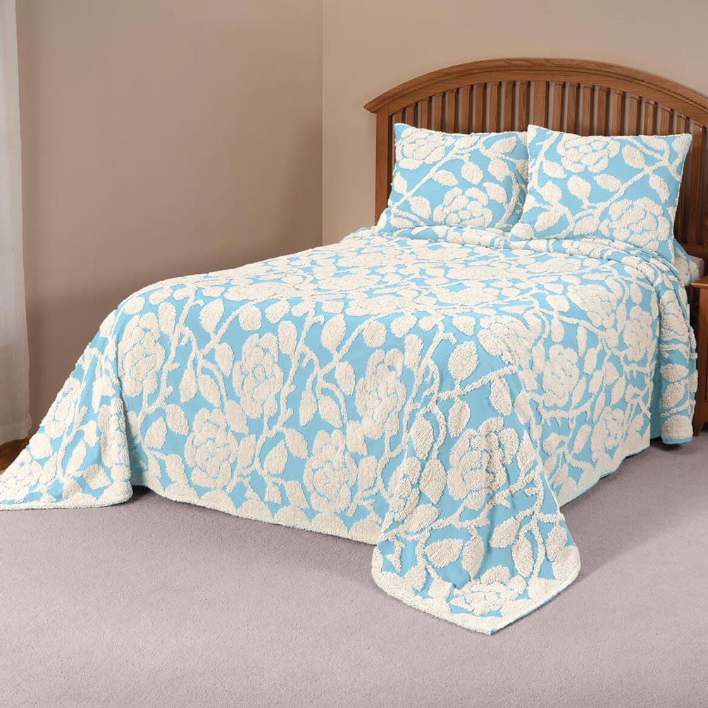 The-Grace-Chenille-Bedspread-by-OakRidgeTM thumbnail 20