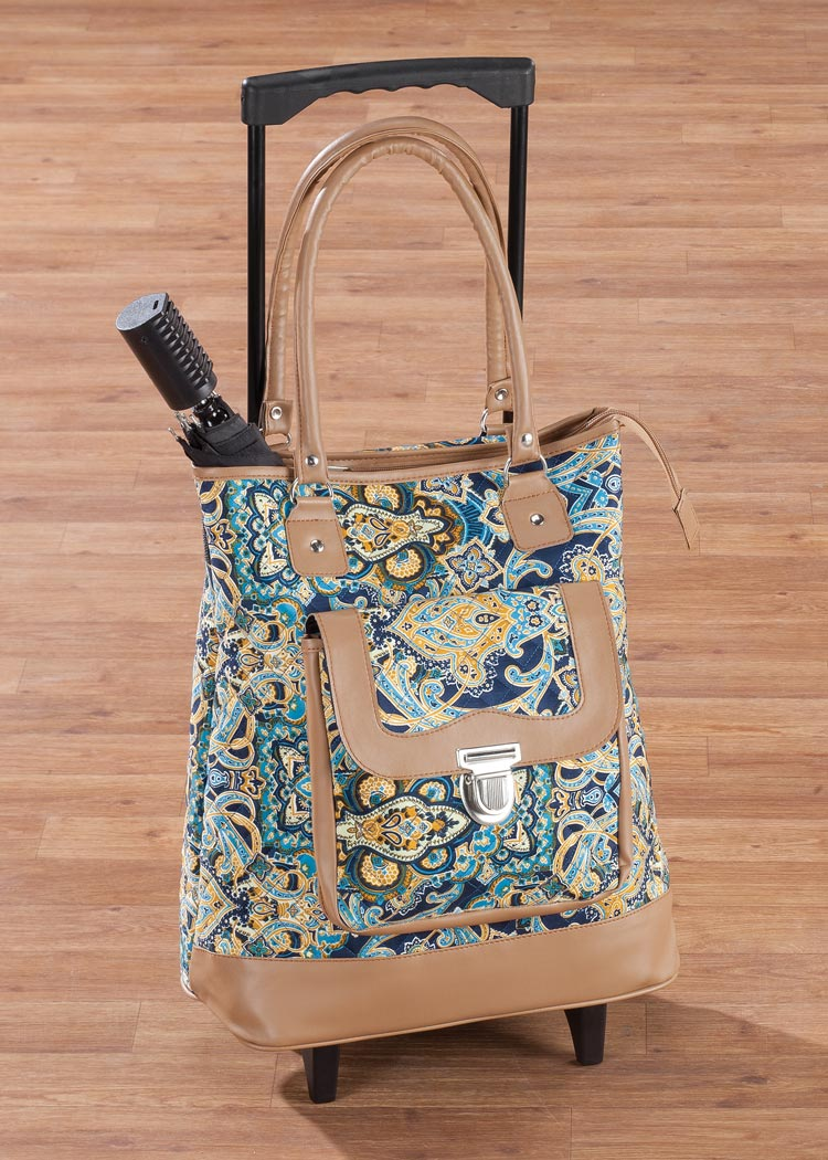 Фото #1: Quilted Rolling Tote