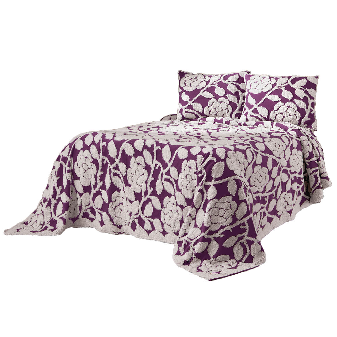 The-Grace-Chenille-Bedspread-by-OakRidgeTM thumbnail 32