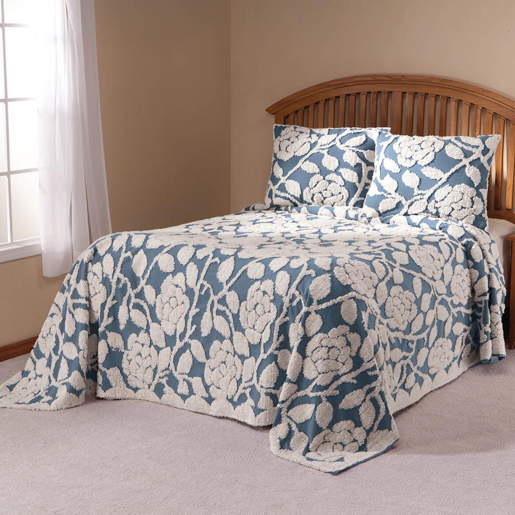 The-Grace-Chenille-Bedspread-by-OakRidgeTM thumbnail 35