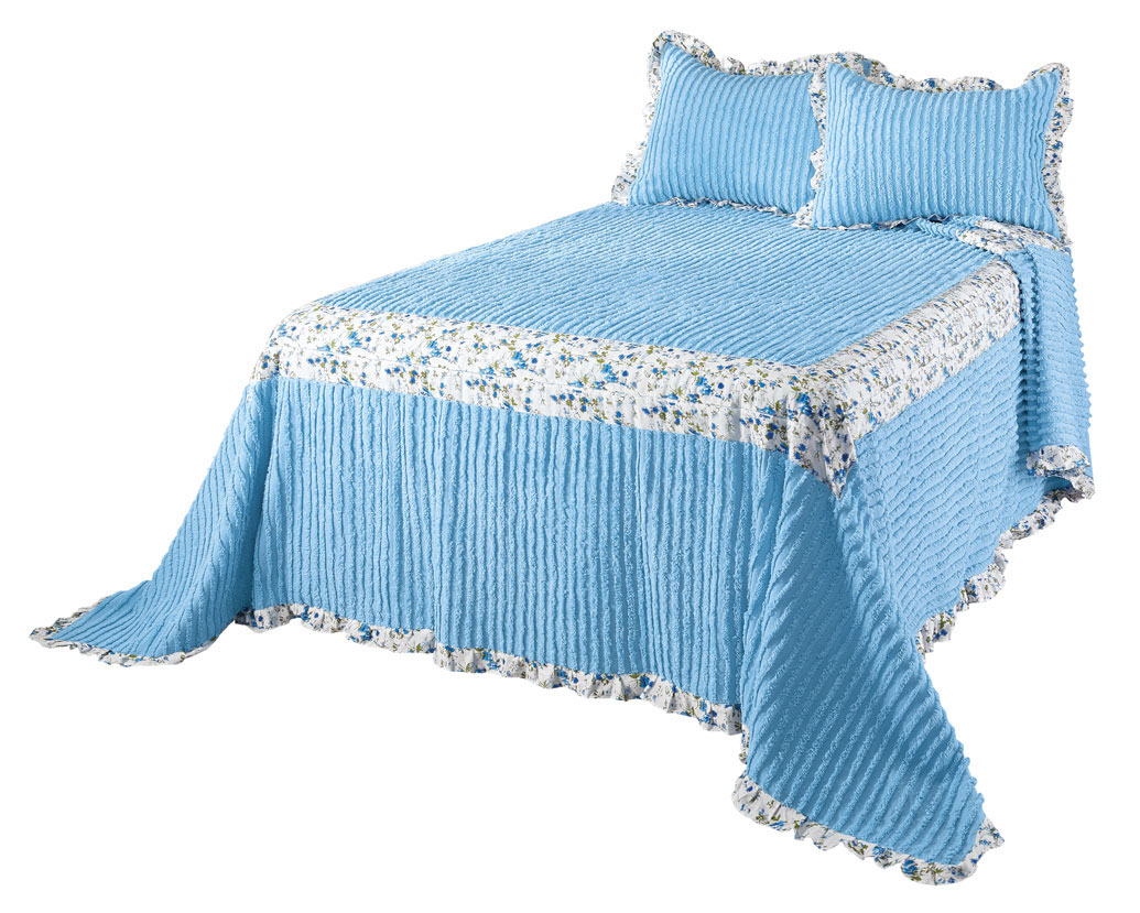 The-Felicity-Chenille-Bedspread-by-OakRidgeTM thumbnail 8
