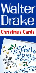 Christmas cards at Walter Drake (Miles Kimball Company)